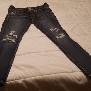 New American eagle jeans size 6 short